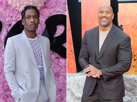 Dwayne Johnson and Pharrell Williams react as A$AP Rocky freed from jail in Sweden