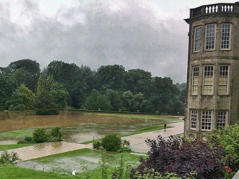Pride and Prejudice mansion Lyme Park evacuated after 'devastating' flooding