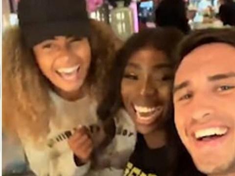 Love Island's Greg O'Shea and Amber Gill reunite with Yewande, Joe and Anton and it's so pure