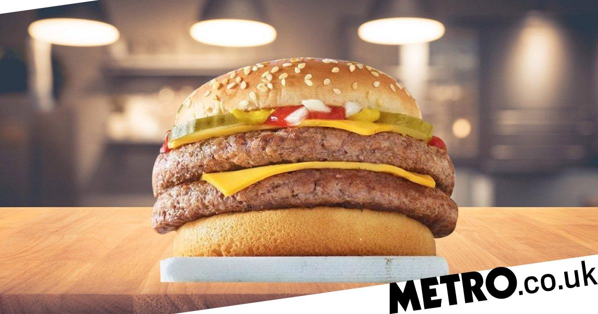 McDonald's is re-launching its Double Quarter Pounder with Cheese   Metro  News