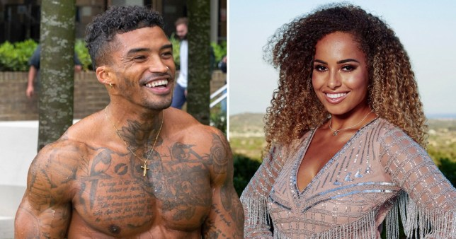 Love Island Amber Gill and Michael Griffiths