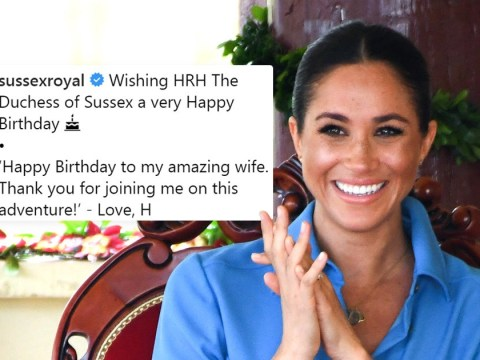Prince Harry thanks 'amazing wife' Meghan Markle on her birthday