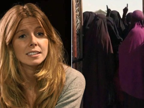 Who protects the Muslim women Stacey Dooley hurt?
