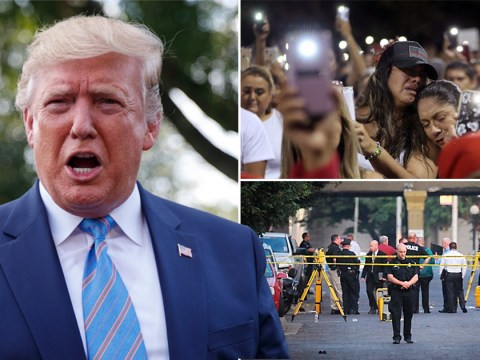 Donald Trump blames immigration for racist mass-shooting that killed 22