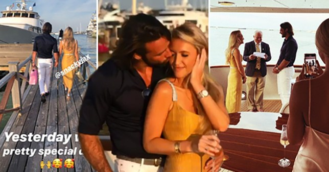 Ben Foden and new wife Jackie Belanoff Smith