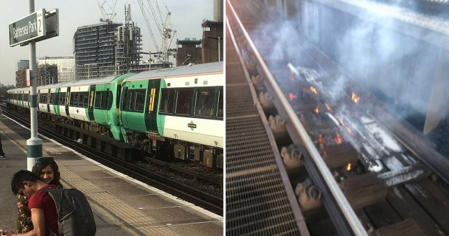 Avoid London Victoria and Clapham Junction after three fires break out