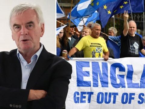 Labour won't block second Scottish independence referendum, says shadow chancellor