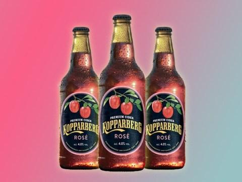 Kopparberg is selling rosé cider for £2.20 a bottle