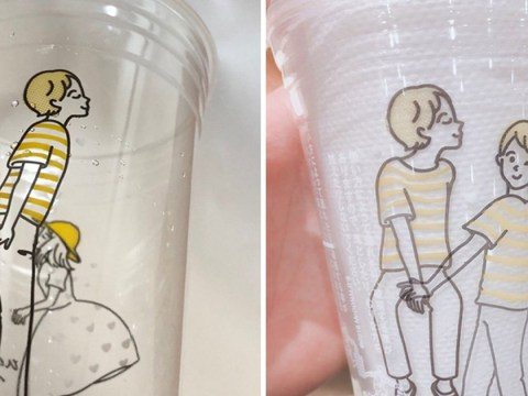 People are realising that the cups from McDonald's Japan can be unintentionally rude