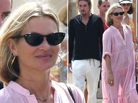 Kate Moss says no to incognito as she glows during Saint-Tropez getaway