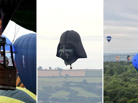 Darth Vader balloon returns home to make debut at Bristol Balloon Fiesta
