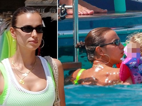 Irina Shayk takes a dip with daughter after Bradley Cooper custody agreement