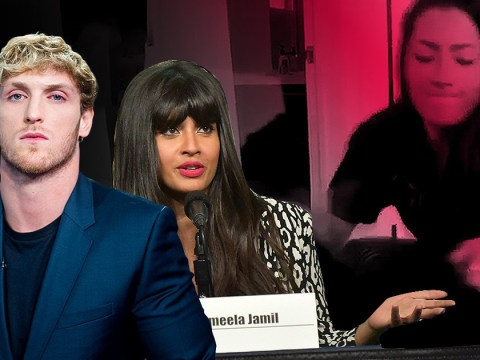 Logan Paul and Jameela Jamil slam Brooke Houts over 'dog abuse' video as YouTubers call for removal of channel