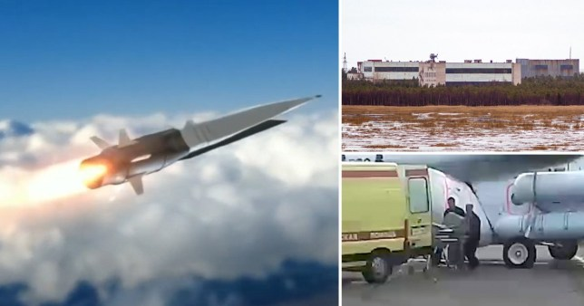 Secret 6,000mph Russian missile may be behind huge radiation leak