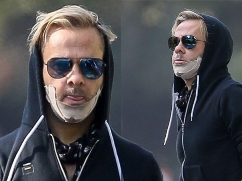 Lord of the Rings star Dominic Monaghan spotted with mysterious bandage on his face