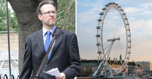 Ian Newby and the London Eye