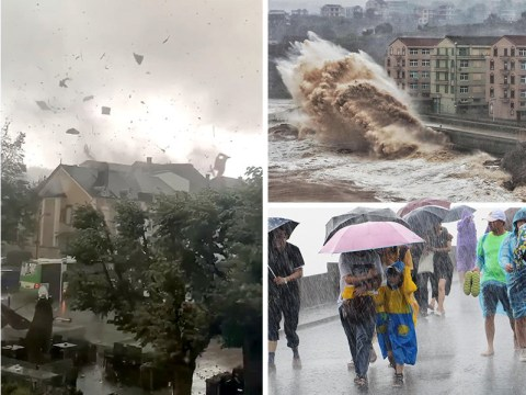 At least 13 dead as powerful typhoon hits China