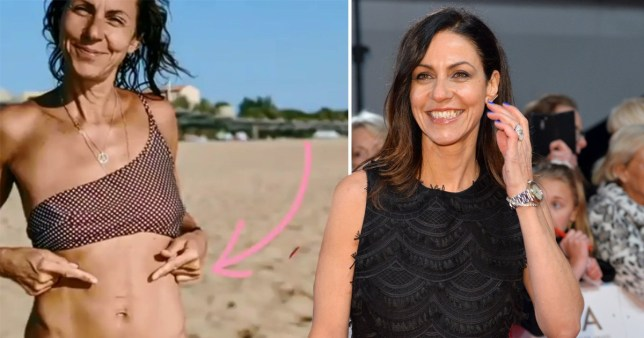 Countryfile's Julia Bradbury displays hernia surgery scar in
