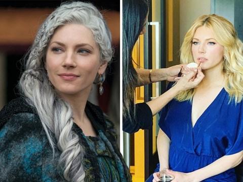 Vikings star Katheryn Winnick teases upcoming movie as she shuns spotlight