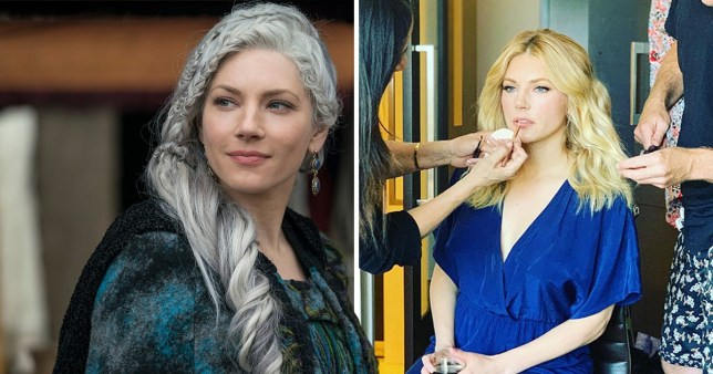 Vikings star Katheryn Winnick has announced her next project (Picture:Rex/Instagram/katherynwinnick)