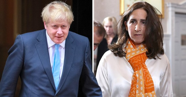 Estranged wife of Boris Johnson speaks out about cervical cancer