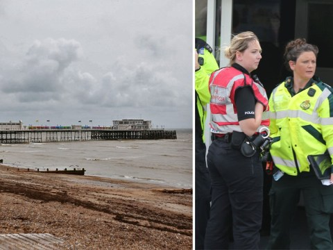 People vomiting after 'chemical spill' at seaside pier