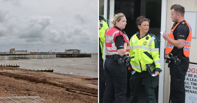 Worthing Pier incident: People vomiting with sore eyes after 'chemical spill'
