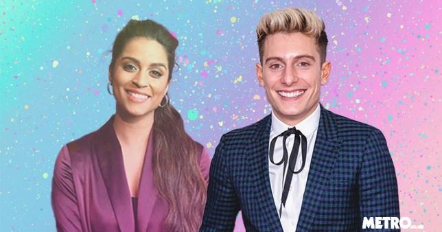 YouTubers Lilly Singh and Riyadh Khalaf