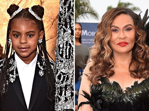 Blue Ivy's already an 'amazing makeup artist' according to Beyoncé's mum, but Jay Z isn't happy about it