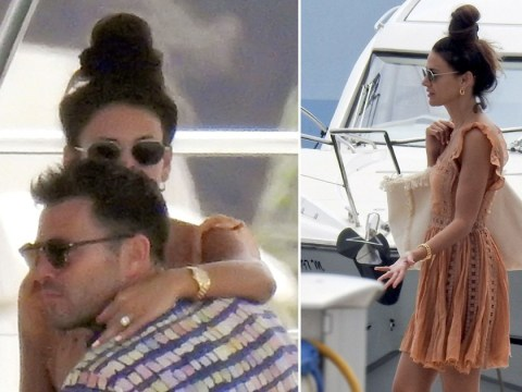 Mark Wright can't keep hands off Michelle Keegan as they live high life in Ibiza