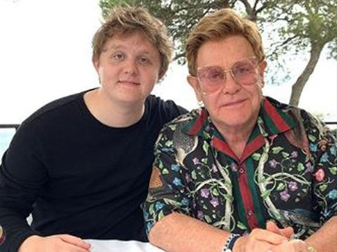 Noel Gallagher who? Lewis Capaldi moves on from feud as he hangs out with Elton John