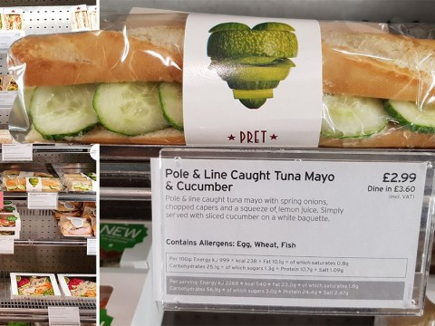 Muslim discovers Pret sandwich he'd been eating for 12 years 'isn't halal'