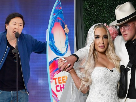Tana Mongeau drags Teen Choice Awards as Ken Jeong throws shade at Jake Paul marriage