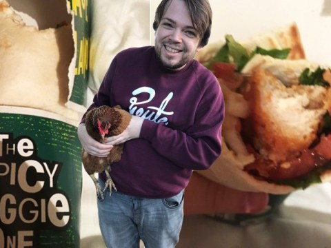 McDonald's accidentally serve vegan man a chicken wrap
