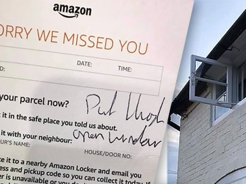 Amazon driver hurled light bulbs through upstairs window when customer was out