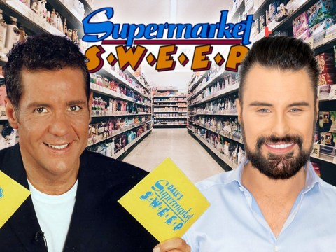 Rylan Clark-Neal channels his inner Dale Winton in first look at Supermarket Sweep revival