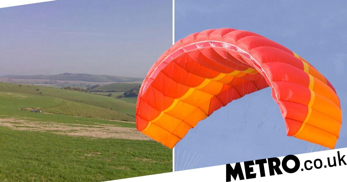 Paraglider, 72, dies after crashing to the ground in 'rare
