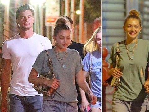 Gigi Hadid and Tyler Cameron pictured together for first time as romance rumours heat up