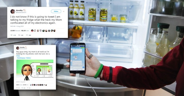 Teen uses smart fridge to tweet after mum confiscates phone