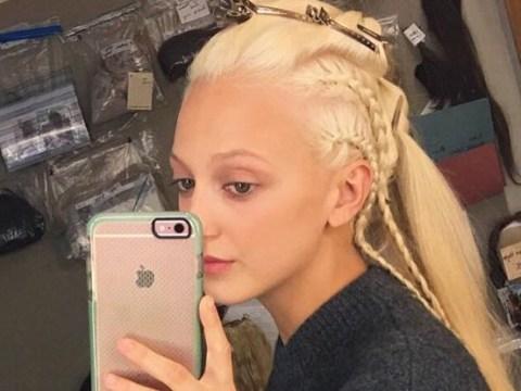 Vikings season 6: Georgia Hirst gives us major hair envy in BTS throwback ahead of finale