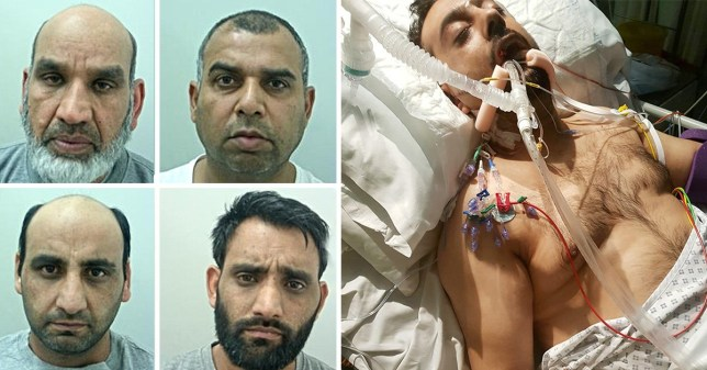 Four guilty of killing dad whose ears they chopped off with machete