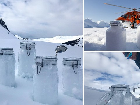 Tiny particles of plastic are falling out of the sky with snow, scientists warn