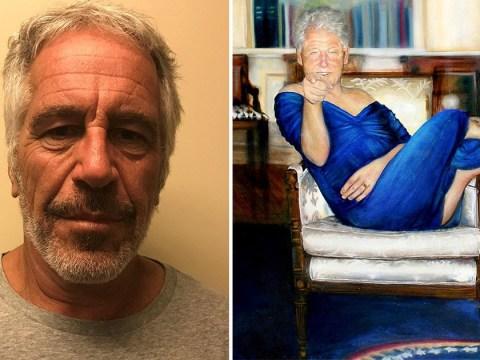 Jeffrey Epstein had bizarre Bill Clinton painting in paedophile lair