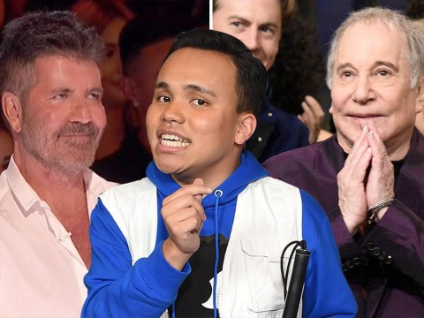 Simon Cowell gives America's Got Talent singer Kodi Lee the best news as he sails through to semi-final thanks to Paul Simon