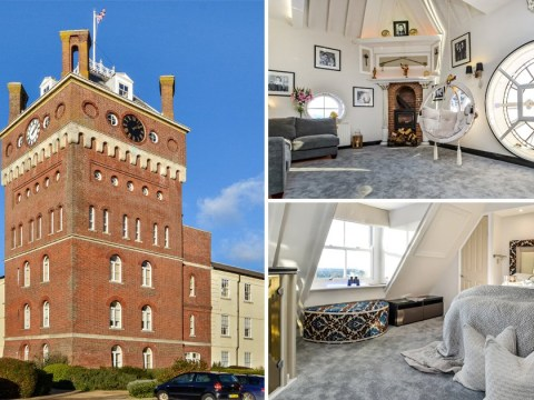 A stunning luxury penthouse inside a working clocktower is now on the market