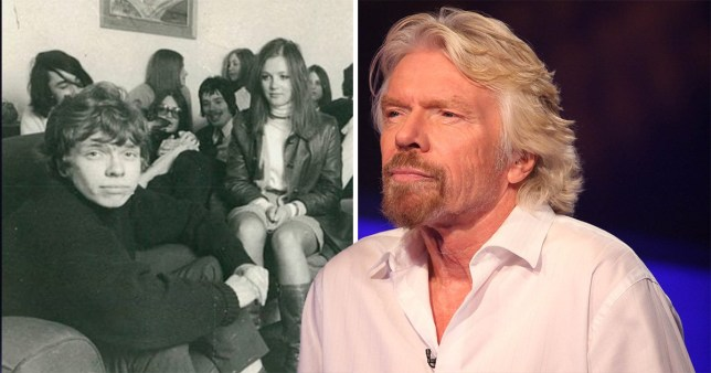 Richard Branson tells students 'grades do not define you' on A-level results day