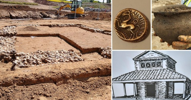 Ancient Roman temple unearthed below Kent building site saved
