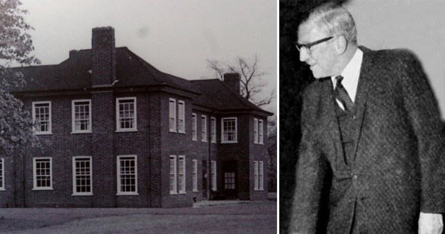 Aston Hall and Dr Kenneth Milner