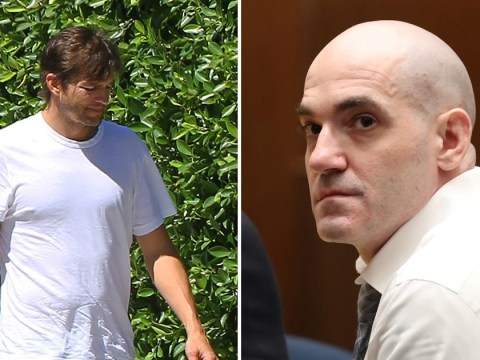 Ashton Kutcher pictured as Hollywood Ripper found guilty of murdering his date
