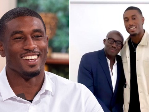 Love Island's Ovie Soko hints at Vogue collaboration as he hangs out with editor Edward Enninful